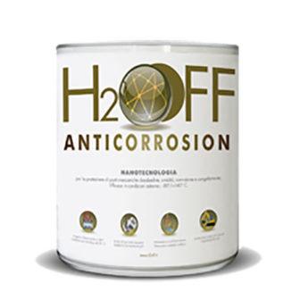 H2OFF anticorrosion 5LT: olio lubrificante anticorrosivo alle nanotecnologie