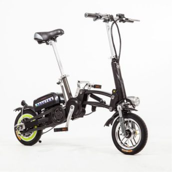 e-One electric quick-folding bicycle
